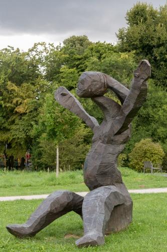Dietrich Klinge, Entwurf fuer eine grosse Figur I