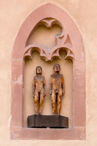 Balkenhol- Adam und Eva