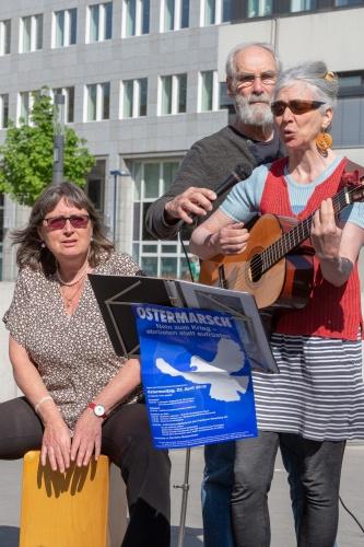 Musikalischer Beitrag von Waltraud Bauer, Conni Zeul und Jochen Zietlow