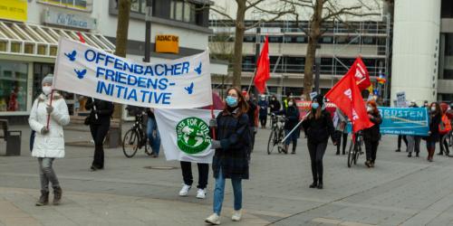 Ostermarsch 2021 - Start