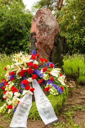 Gedenkstein fuer die Zwangsarbeiter*innen 2