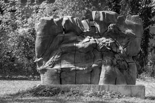 Eberhard Linke, Roemisches Mauerfossil