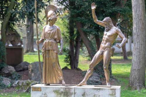 Myron, Athena und Marsyas-4