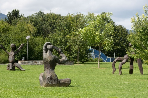 Dietrich Klinge, Entwurf fuer eine grosse Figur I und VI und Polyanthe