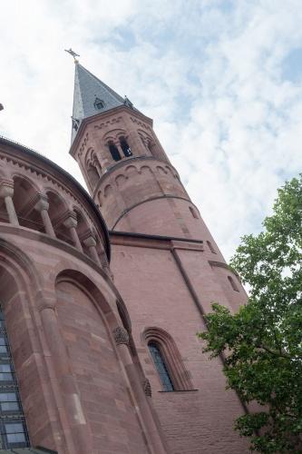 Turm des Mainzer Doms
