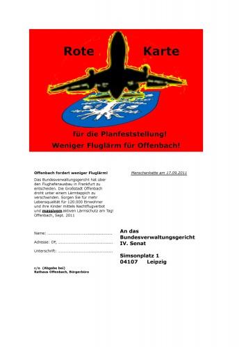 Menschenkette gegen Fluglaerm-25