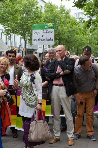 Mahnwache fuer Respekt, Toleranz und Zivilcourage-5
