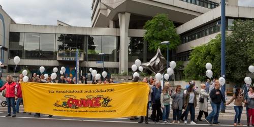 Courage Fuer Menschlickeit und Solidaritaet