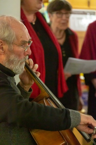 Jochen Zietlow am Cello