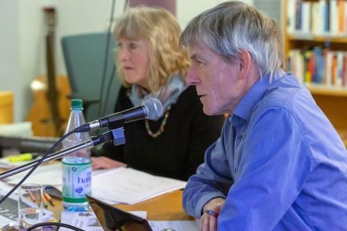 Karl-Heinz Peil referiert zu Stopp Air Base Ramstein-2