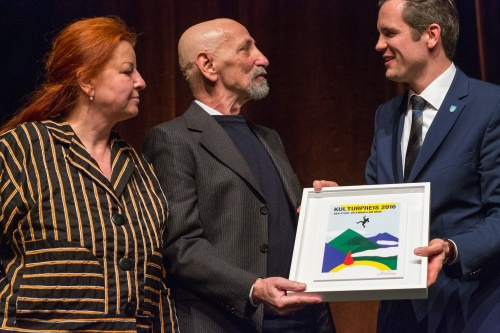 Ueberreichung Kulterpreis der Stadt Offenbach