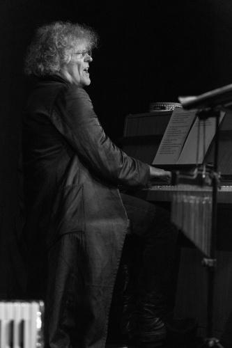 Moritz Stoepel am Klavier