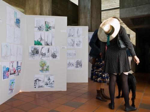 ASRM - Architekten zeichnen; Bilderflut - Vernissage
