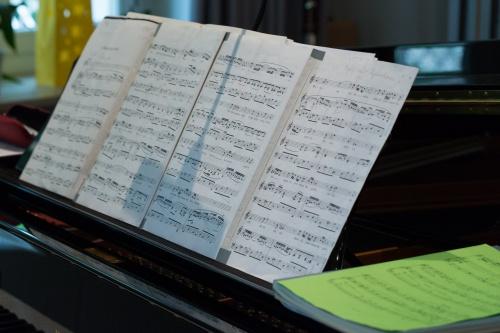 Piano-Noten