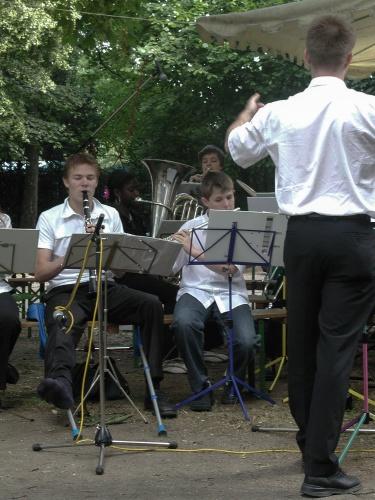 Bigband auf dem Offenbacher Mainuferfest-3