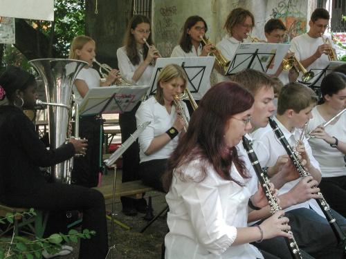 Bigband auf dem Offenbacher Mainuferfest-5