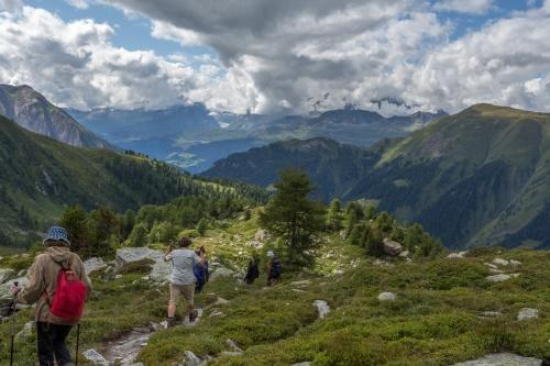 Geisspfad-Abstieg