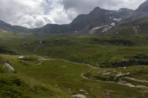 Wanderweg zum Albrunpass
