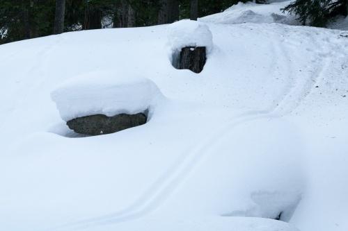 Formen im Schnee-4