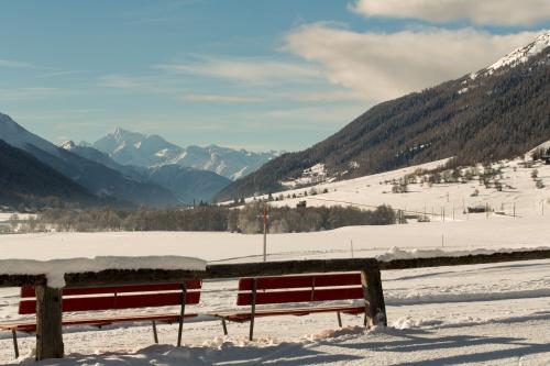Blick zum Weisshorn