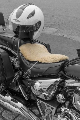 Motorrad mit Sitzheizung
