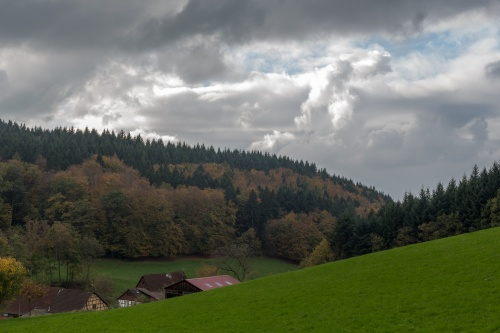 Brombachtal im Herbst