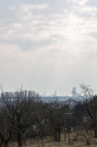 Himmel ueber Frankfurt