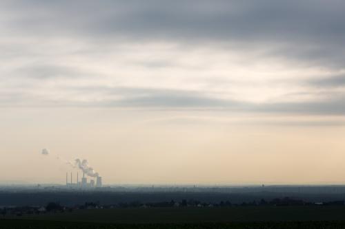 Sendemast vor Wolken-2