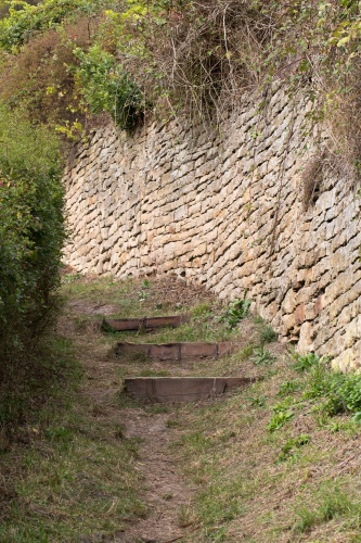 Wanderweg zur Ruine Disibodenberg