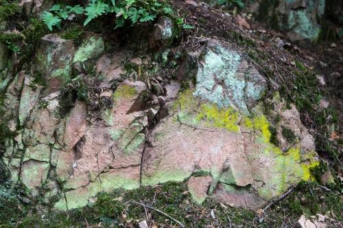 Fels und Farbe
