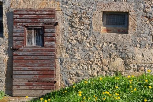 Tuer und Fenster
