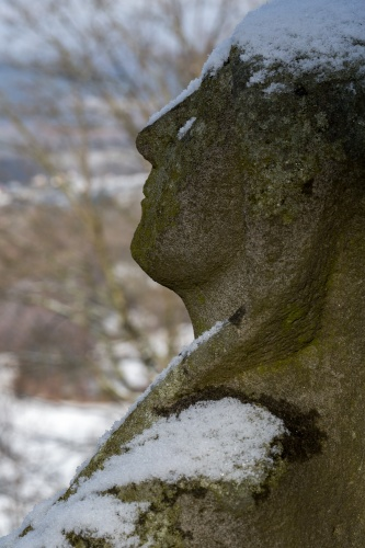 Details von Figuren auf dem Battenstein