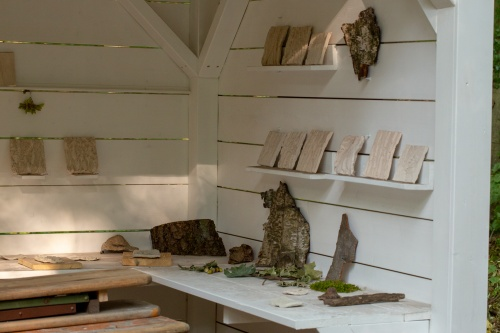 Anke Mellin, Museum in the Woods-2