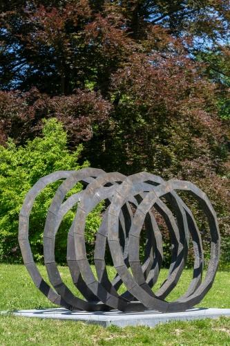 Abraham David Christian- Interconnected Sculpture