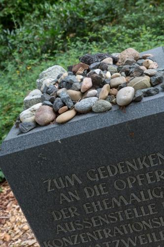 Gedenkstein KZ-Walldorf
