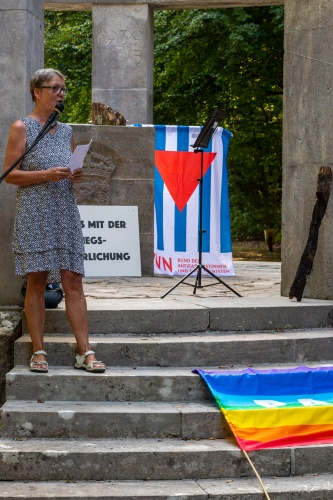 Barbara Leissing VVN BdA moderiert