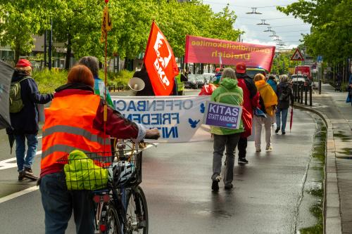 Demonstrationszug