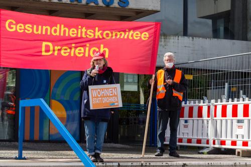Redebeitrag Offenbacher Friedensinitiative