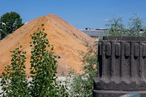 Sand und Sandstein (Schmickbruecke)