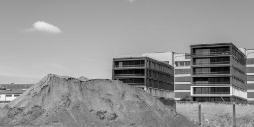 Sand fuer Bauwerke